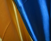 FREE US SHIPPING! Indoor Handmade Ukrainian Crepe Satin Flag