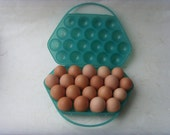 SALE 25% OFF Vintage Russian Case for Eggs Made in USSR in 1970's - Astra9