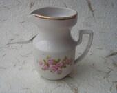 Vintage Soviet Porcelain Creamer Made in USSR in 1980s