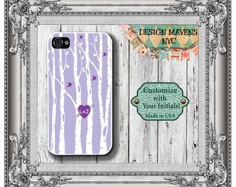 Love Birds iPhone Case, Personalized iPhone Case, iPhone 4, iPhone 4s, iPhone 5, iPhone 5s, iPhone 5c, iPhone 6, Phone Cover, Phone Case