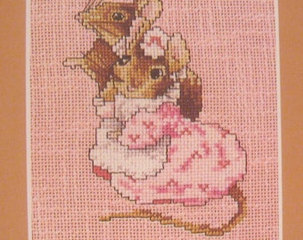 needlepoint beatrix potter cross stitch taylor of gloucester  CHART INSTRUCTIONS ONLY lakeland artist new
