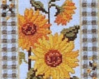 American School of Needlework Country Bouquets Floral Counted Cross Stitch Patterns