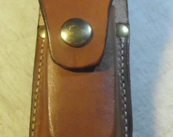 leather sheath for Buck 110  or the   Buck 112 / please indicate what color u want