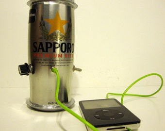 Sapporo Can iPod/MP3 Amplifier