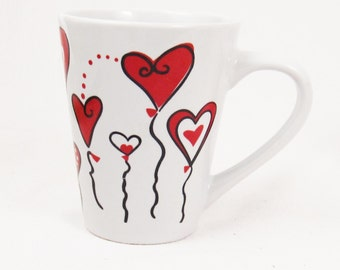 Hearts on a String Mug- Mint condition!