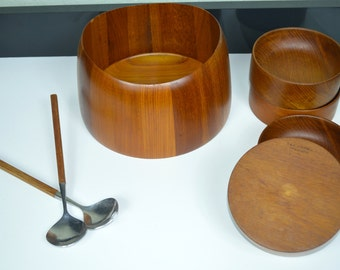 Sowe-Konst Sovestad Teak Bowl Set - Made in Sweden