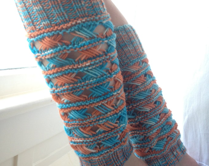 Boho Chic Leg Warmer Pattern
