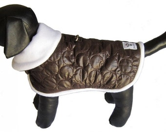 SALE! Dog Jacket - Brown Dog Jacket