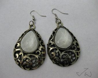 Drop Vintage Bronze Stainless Steel Earrings