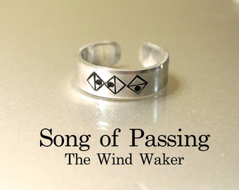 Song of Passing //  The Wind Waker Song Ring