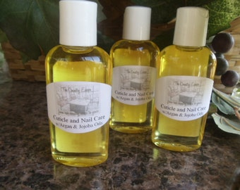 Organic Cuticle and Nail Care Oil - Jojoba and Argan Oil - Essential Oil - All Natural