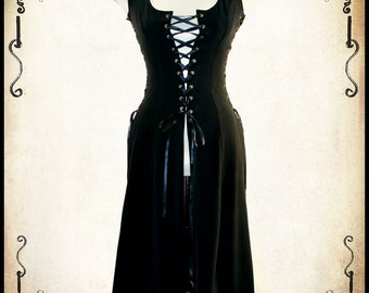 Royal Bustier Medieval clothing corset - Steampunk blouse for LARP, victorian costume and cosplay