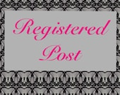 Registered Post within Australia add on