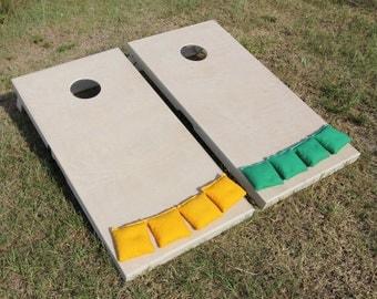 Unfinished Cornhole Board Set - Slimline Series