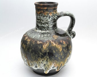 West German Fat Lava  vase by Ruscha vase 376