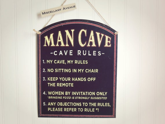 Man Cave Rules Sign Australia : Unavailable listing on etsy
