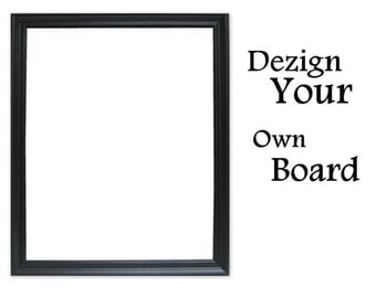 Xlarge Custom Fabric Pin Board Magnetic Chalk Board Office Bulletin Board Wedding Chalk Board Magnetic Dry Eras-You Dezign-It 24 x 36