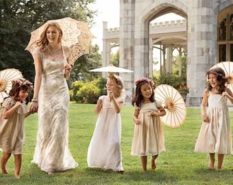 Lace Parasol, Wedding Parasol, Wedding Umbrella, Cosplay Prop, Photo Prop, Victorian Lace Parasol, Wedding Accessories, Vintage Wedding