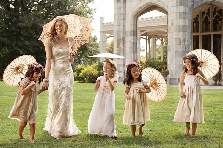 Wedding Flower Girl Umbrella
