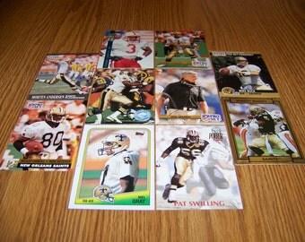 50 New Orleans Saints Football Cards