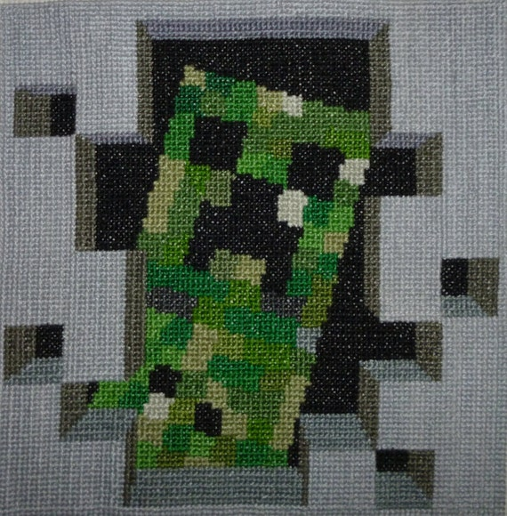 Monster Cross Stitch Pattern