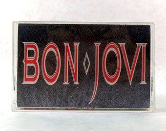 Vintage bon jovi cassette 1986 slippery when wet for Slippery when wet tattoo