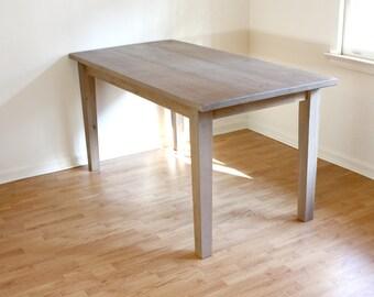 Handmade Rustic Farmhouse Table // Reclaimed Wood Dining Table // Reclaimed Wood French Farmhouse Table // French Farmhouse Table // 30