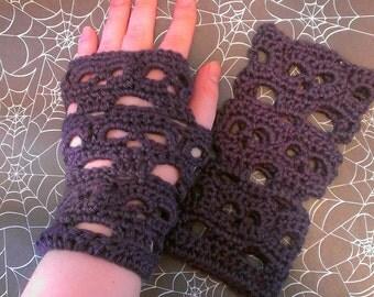 Finglerless Skull glove