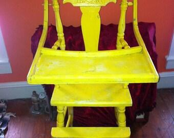 Victorian Highback Baby Highchair