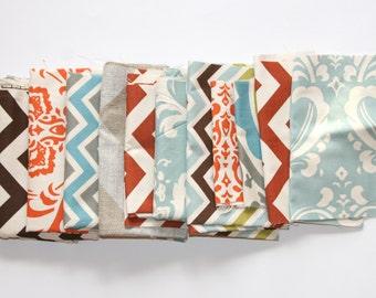 60% OFF - Fabric Scraps- Premier Prints Remnants- Natural Color Assortment- Home Decor Fabric- Fabric Strips, Destash, Upcycle