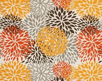 12 yard fabric premier prints blooms chili pepper slub blooms floral upholstery home decor fabric autumn cotton modernality fabrics
