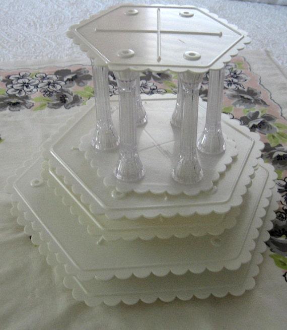 Hexagon Cake Separator Plates
