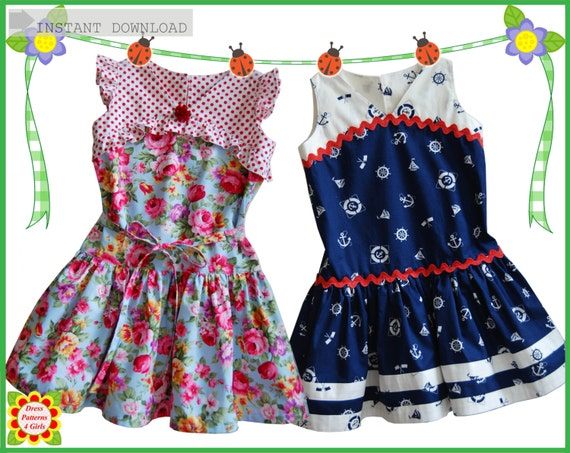 GATSBY Girls DRESS PATTERN Free Mother-Daughter Apron