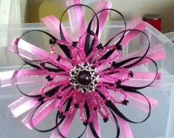Think Pink Fancy Ribbon