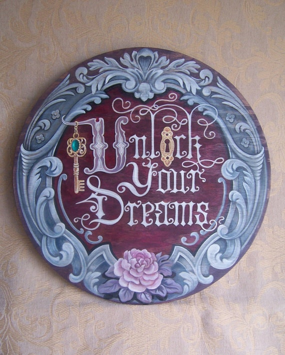Art Sign Wood Sign Inspiration Sign Wall Art Hand Lettered