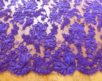 Vintage Purple French Alecon Lace No. 432-R