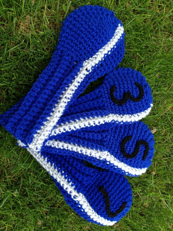 Crochet Patterns Golf Club Covers Free : Items similar to Mitch Golf Club Cover Pattern to Crochet - Instant ...