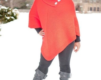 Cowl Necked Poncho