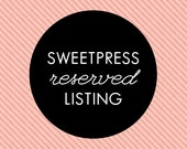 Reserved Listing - Christie