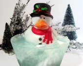 Christmas Rubbery Ducky Soap