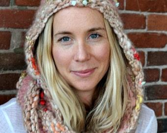 Hoodie Cowl Knit Pattern