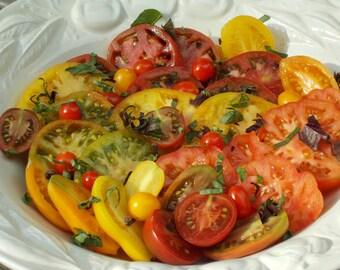 Lemon Tomato Seeds, heirloom tomato seeds, organic seeds, roma tomato, vegetable seeds, farmers market, rare seeds, yellow tomato, tomatoes