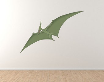 Reptile - Dinosaur Pterodactyl Vinyl Wall Decal by WallJems Wall Decals