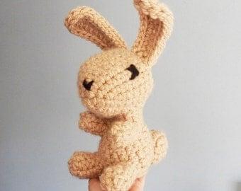 Huge Crocheted Bunny, Rabbit