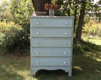 SOLD-Shabby Chic Dresser