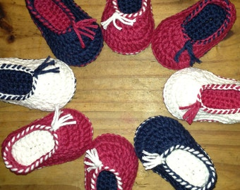 INSTANT DOWNLOAD Quick and Easy Baby House Slippers Shoes Crochet Pattern 0-12 months