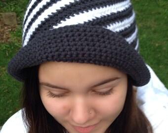 Diagonal Hat Crochet Pattern Instant Download PDF