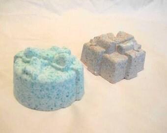 Large Present-Shaped Bath Bombs, set of 2