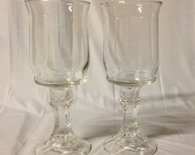 Candle Holder Wine Glasses or Candle Holders