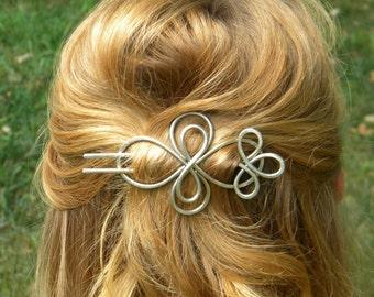 Hair Fork, Hair Slide, Hair Stick, Hair Barrette, Hair Clips, Metal Hair Clip, Hair Pin, Hair Accessories, Messy Bun, Gifts For Women, Pins